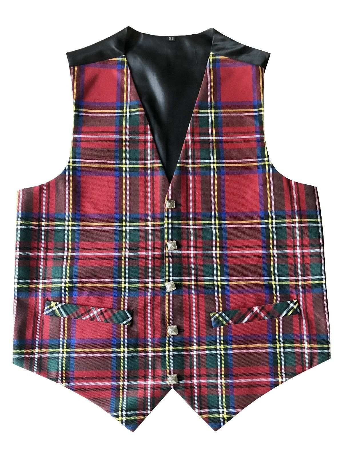 Mens Mens Mens Royal Stewart Tartan Waistcoat | Clearance Sale  91bdb8