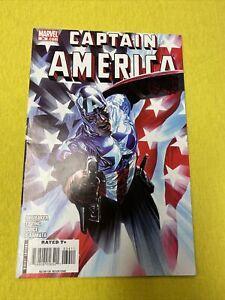 Captain America #34~Alex Ross variant~1st appearance Bucky as Capt~2008~NM+
