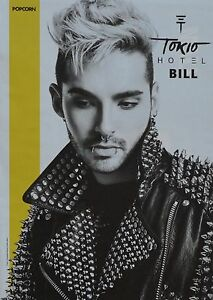 BILL-KAULITZ-A4-Poster-21-x-28-cm-Tokio-Hotel-Clippings-Fan-Sammlung-NEU