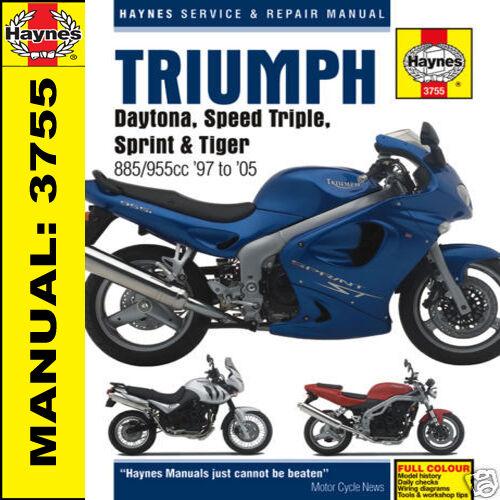 Haynes manual 3755 triumph daytona 955i speed triple t595 sprint haynes manual 3755 triumph daytona 955i speed triple t595 sprint tiger fandeluxe Gallery