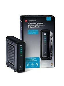 Motorola SBG6580 DOCSIS 3.0 Wireless Cable Modem Router Gateway Comcast SEALED