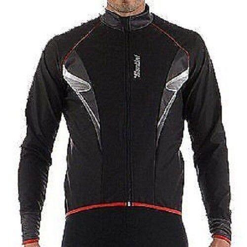 Santini Radical Lichtgewicht Windtopper Cycling Jasje --zwart