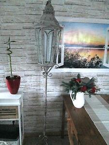 laterne stra enlaterne metall deko landhaus shabby chic. Black Bedroom Furniture Sets. Home Design Ideas