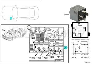 72 bmw 3 series z3 e36 abs motor mousy grey relay. Black Bedroom Furniture Sets. Home Design Ideas