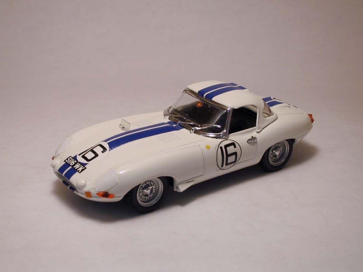 Jaguar E  16 Le Mans 1963 1 43 Best Be9205 Modellino Auto Diecast