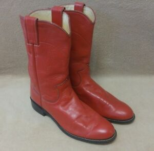 e82b5840803 Image is loading Womens-JUSTIN-Roper-L3055-Cowboy-Western-Boots-USA-