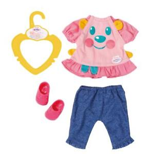 MY LITTLE BABY BORN DOLLS PINK OUTFIT WITH SHOES BRAND NEW ON HANGER
