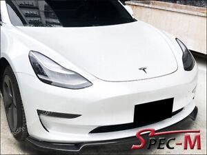 Fits-Tesla-Model-3-JPM-MX-Carbon-Fiber-Front-Bumper-Lip-Splitter-2017-2020-CF