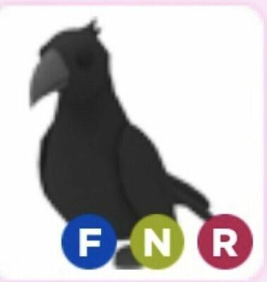 Read Desc Neon Crow Pet Fnr Adopt Me Roblox Flyable Neon Ridable Ebay