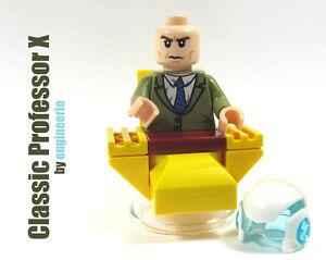 LEGO Custom - Classic Professor X - Marvel Super heroes mini figure X-men