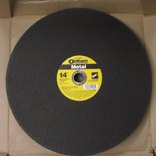 "Oldham B140MEP 14/"" x 1//8/"" x 1/"" Abrasive Cutoff Wheel 10pcs"