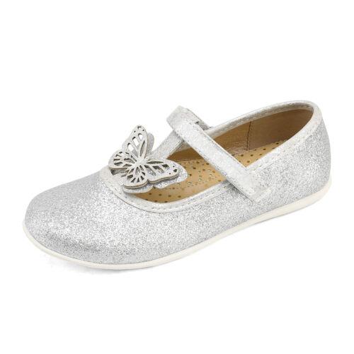DREAM PAIRS Girls Dress Shoes Kids Princess Flat Shoe School Vintage Party Shoes