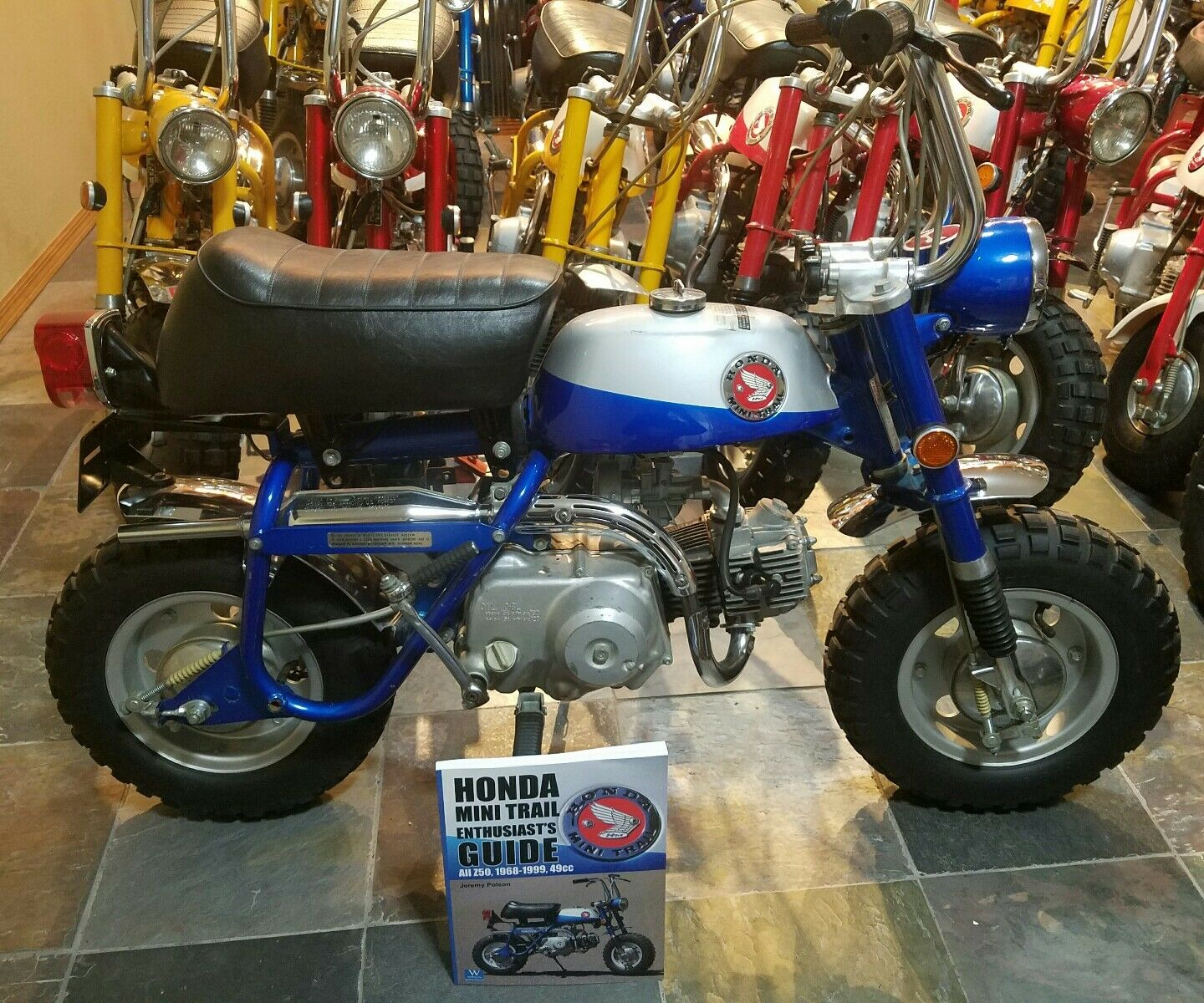 Honda Mini Trail Enthusiasts Guide Book Signed Author Copy Z50 Ww Old Bikes Norton Secured Powered By Verisign