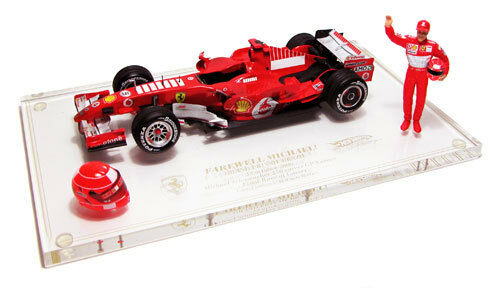 Ferrari F248 GP Interlagos 2006 M.Schumacher J2996 1 18 Hot Wheels