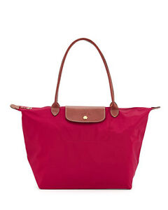 Longchamp-Le-Pliage-Classic-Nylon-Large-Shopping-Tote-Authentic-Overrun-Red