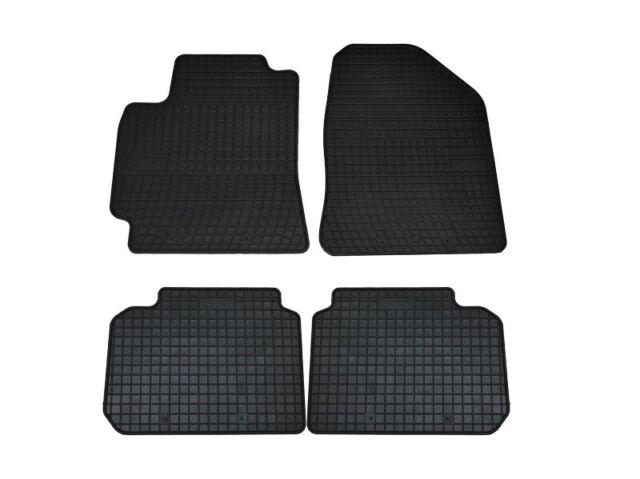 Gummifussmatten für Hyundai Elantra VI ab Bj. 2016 Automatten Fußmatten schwarz