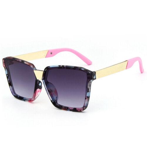 LE Kids Korean Floral Sunglasses Baby Girls Colored Sun Glasses Polygon Square