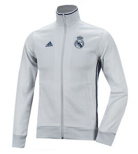 9bf0d89d52e8 Details about Adidas Real Madrid 3S Track Top L/S Training Jersey AP1840  Soccer Football