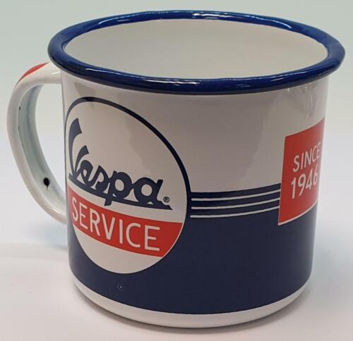Nostalgic type EMAILLE Gobelet Vespa Service Café Gobelet Tasse de nostalgie Cup