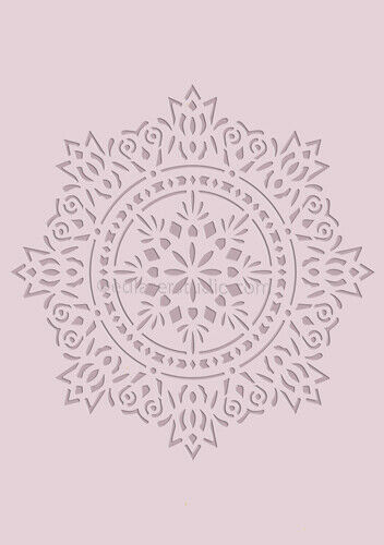 Mandala Doily Lace Stencil Template Card making Paint Furniture Crafts Art DL29