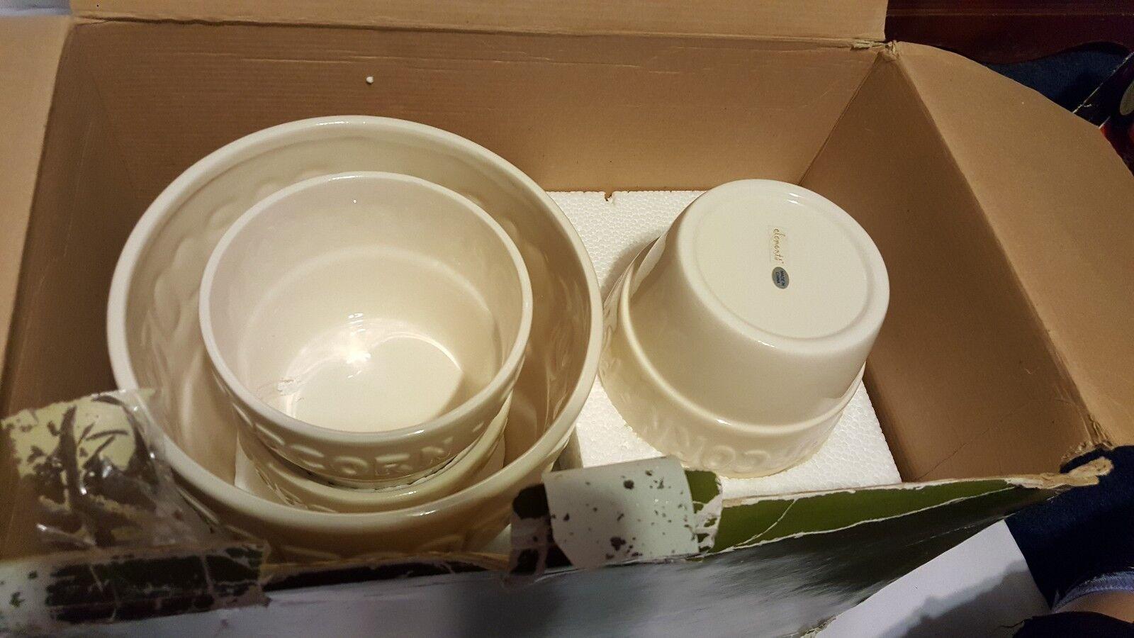 Classic éléments Popcorn Bowl Set de 5 Popcorn Bowls