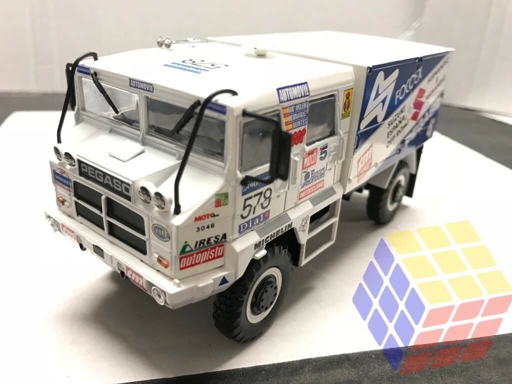 Camión 4x4 Pegaso 3046 de doble cabina cabina cabina - Competición París Dakar 1990 (1 43) Ixo b67242