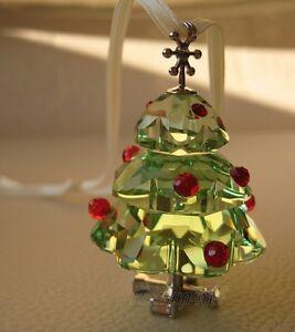 Swarovski Crystal Figurine #904990 Christmas Tree Ornament ...