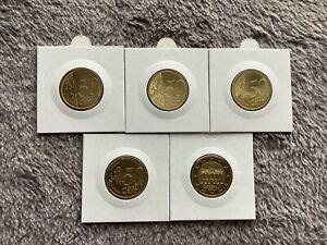 BRD 50 Cent in PP- Spiegelglanz ADFGJ (Wählen Sie die Jahrgängen: 2015 - 2021)