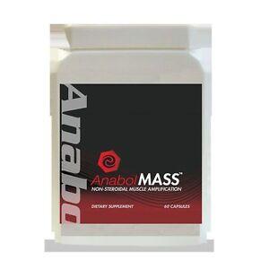 MASSA-muscolare-Anabolizzanti-Aumento-Di-Peso-dimensioni-Forza-Pillole-60-Capsule