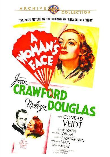 DE LA MUJER FACE Joan Crawford) - DVD - Region Free