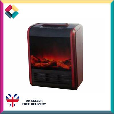New Item Box Damaged Warmlite WL46011C Electric Mini Fireplace Heater