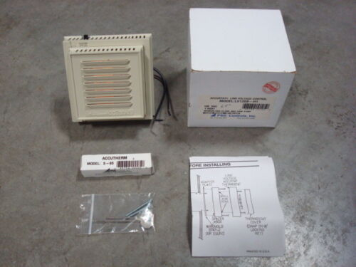 NEW PSG Accutherm LV120B-H1 120VAC Line Voltage Control with S-65 65° Sensor