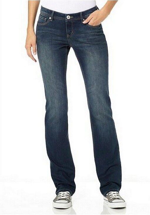 4Wards Jeans Bootcut New Gr.36 Ladies Stretch Denim Samba Dark bluee Used