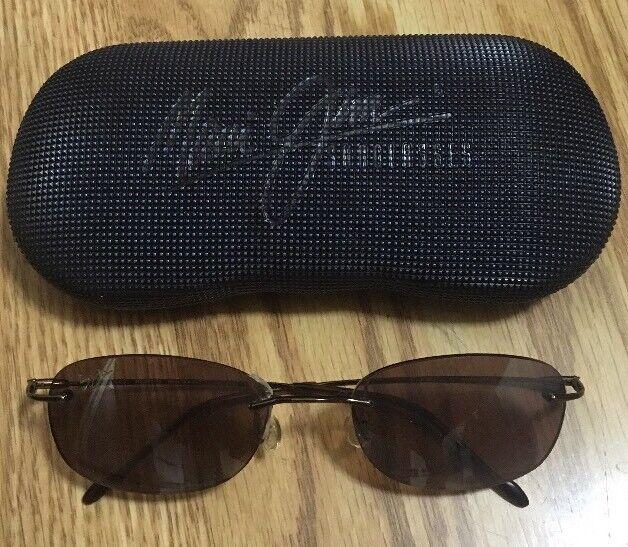 662bf3280b Maui Jim Sport Sunglasses Mj-452-23 Polarized Lenses W Case for sale online