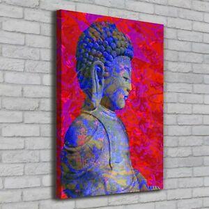 Details Zu Leinwand Bild Kunstdruck Hochformat 70x100 Bilder Buddha