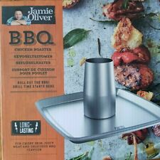 Jamie Oliver 552608 Beer Can Chicken Roaster Black For Sale Online Ebay