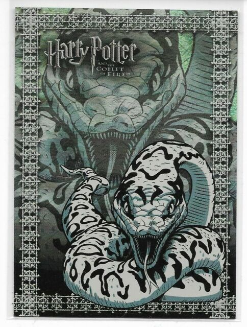 Harry Potter Goblet Of Fire Prismatic Foil Chase Card R8