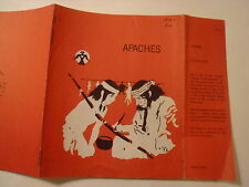 Apaches, Marion Israel, Dust Jacket Only