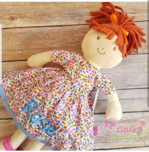 douce poupée de chiffon 1st Anniversaire Cadeau baby doll Personnalisé de poupée avec cheveux roux