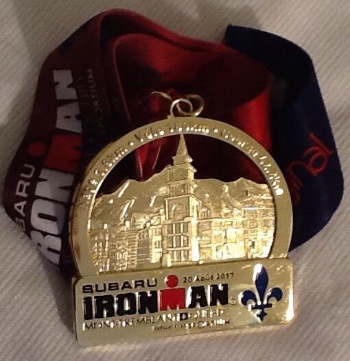 Ironman Triathlon 2017 Quebec Edition Medal OR Signed T-shirt OR Towel Rare