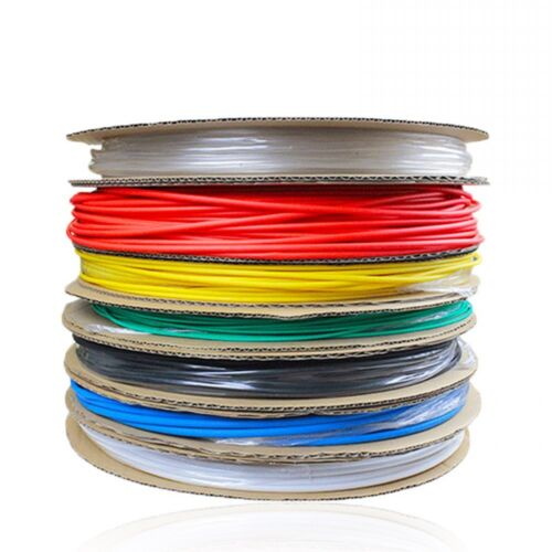 Φ1mm Heatshrink 2:1 Tube Tubing Sleeve Sleeving Red,Blue,Black,Green,Clear,White
