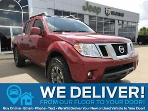 2019 Nissan Frontier PRO-4X | 4WD | Leather | Sunroof | Remote Start