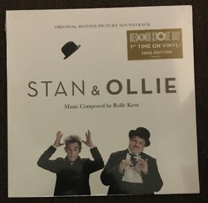 Rolfe-Kent-Stan-amp-Ollie-OST-LP-Vinyl-New-Limited-Ed-RSD-BF-Laurel-amp-Hardy