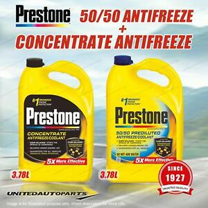 Prestone Concentrate Antifreeze 3.78L and 50/50 Antifreez Coolant 3.78L