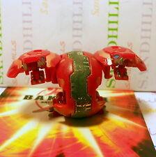 Bakugan Dual Hydranoid Red Pyrus B1 Classic 400G & cards