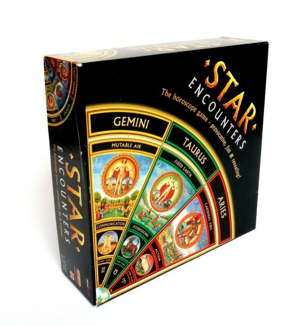 Star Encounters The zodiac Board Game by Spears-Provocative, fun and revealing