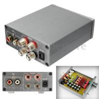 HIFI 2.0 Stereo Digital Audio Power Amplifier TPA3116 50W+50W 12v 24v Car + Case