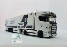 "Herpa 1:87 311601 Scania CS 20 HD Kühlkoffer-Sattelzug /""TSU Bode/"" NEU!"