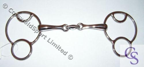 CS Lozenge Universal Gag Vienna Bit S.Steel 6.5  - 16.5cm