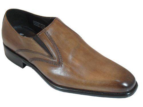 contatore genuino Toscana 7282 Uomo Italian Italian Italian Slip On Dressy scarpe  risposte rapide
